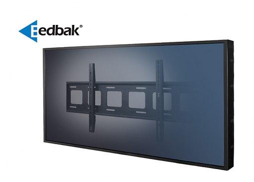 Profesionální nástěnný držák pro bezpečné zavěšení těch největších televizorů s úhlopříčkou 60-120 palců a hmotností až 110kg - EDBAK XWB1