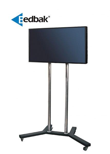 Televizní stojan vhodný na prezentace a reklamu pomocí televizní nebo monitorové techniky. EDBAK TR1 je Tv stojan profesionální kvality se širokou škálou nastavení, profesionální kvality a moderního designu.